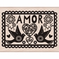 Hero Arts Mounted Rubber Stamp - Amor