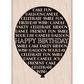 Hero Arts Mounted Rubber Stamp - Balloon Happy Birthday