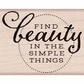 Hero Arts Mounted Rubber Stamp By Lia 3.5X3.5 Find Beauty