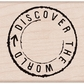 Hero Arts Mounted Rubber Stamp - Discover The World