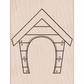 Hero Arts Mounted Rubber Stamp - Dog House