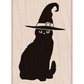Hero Arts Mounted Rubber Stamp - Halloween Cat