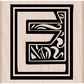 Hero Arts Mounted Rubber Stamp - Illuminated E