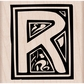 Hero Arts Mounted Rubber Stamp - Illuminated R