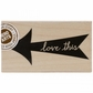 Hero Arts Mounted Rubber Stamp - Love This Arrow