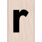 Hero Arts Mounted Rubber Stamp - Lowercase R