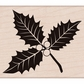 Hero Arts Mounted Rubber Stamp - Poinsettia w/Berries