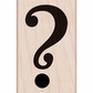 Hero Arts Mounted Rubber Stamp - Question Mark