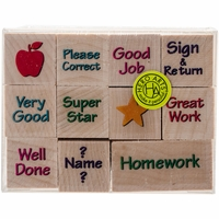 "Hero Arts Mounted Rubber Stamp Set 2""x1.375"" - Nearly Tiny Messages From You"