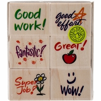 "Hero Arts Mounted Rubber Stamp Set 3""x3"" - Stamps For Students"