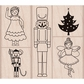 Hero Arts Mounted Rubber Stamp Set - Nutcracker