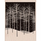 Hero Arts Mounted Rubber Stamp - Winter Trees Scene