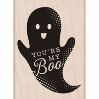 Hero Arts Mounted Rubber Stamp - You're My Boo