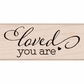 Hero Arts Mounted Rubber Stamps By Lia - Love You Are