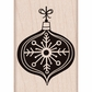 Hero Arts Mounted Rubber Stamps - Chalkboard Ornament
