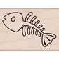 Hero Arts Mounted Rubber Stamps - Fishbone