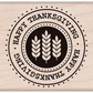 Hero Arts Mounted Rubber Stamps - Happy Thanksgiving Seal