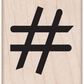 Hero Arts Mounted Rubber Stamps - Hash Tag