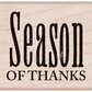 Hero Arts Mounted Rubber Stamps - Season Of Thanks