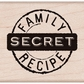 Hero Arts Mounted Rubber Stamps - Secret Family Recipe