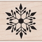 Hero Arts Mounted Rubber Stamps - Small Snowflake