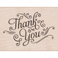 Hero Arts Mounted Rubber Stamps - Thank You W/Flourishes