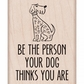 Hero Arts Mounted Rubber Stamps - Your Dog Thinks