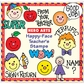 Hero Arts Mounted Stamp Sets - Happy Faces Teachers Stamps