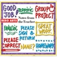 Hero Arts Mounted Stamp Sets - Notes From The Teacher Stamps