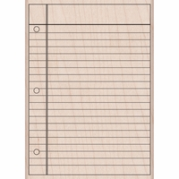 Hero Arts Notebook Paper Notebook Paper