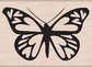 Hero Arts Wood Stamp - Heart Winged Butterfly