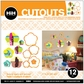 Hip In A Hurry 3D Decor Cut Outs - Flower-Rococo 2