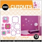 Hip In A Hurry 3D Decor Cut Outs - Puff-Flower 2