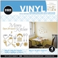 Hip In A Hurry Vinyl Paint Rub-Ons - Mom