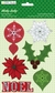 Holly Jolly Felt Stickers w/Jewels