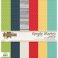 "Homespun Simple Basics Paper Kit 12""x12"""