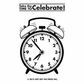 Hot Off The Press Acrylic Stamps - Small Alarm Clock