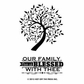 Hot Off The Press Acrylic Stamps - Small Family Tree