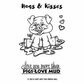 Hot Off The Press Acrylic Stamps - Small Hugs & Kisses