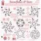 Hot Off The Press Hot Plastic Templates - Snowflakes & Stars