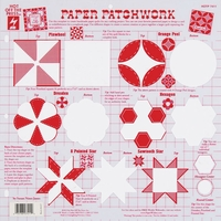 Hot Off The Press Stencil Template - Paper Patchwork