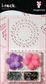 i-rock Stencil Kit With Flowers & Gems - Frames