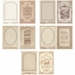 Idea-Ology Cabinet Card Frames