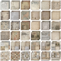 "Tim Holtz idea-ology Paper Stash Paper Pad 12""x12"" - French Industrial"