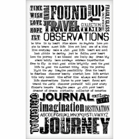 Tim Holtz® idea-ology Remnant Rubs Rub-Ons - Words