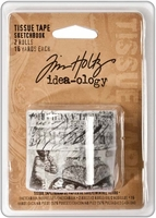 Tim Holtz® idea-ology Tissue Tape - Sketchbook