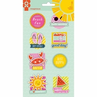 Imaginisce Sunny Sticker Stackers 3D Stickers