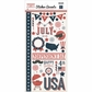 Independence Day Stickers - Accents