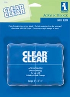 Inkadinkado Clear Block Large