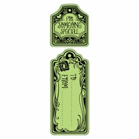 Inkadinkado Valentine Cling Stamps - To and From Tags